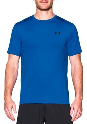 Under Armour Men's Raid Short Sleeve Tee - Blue