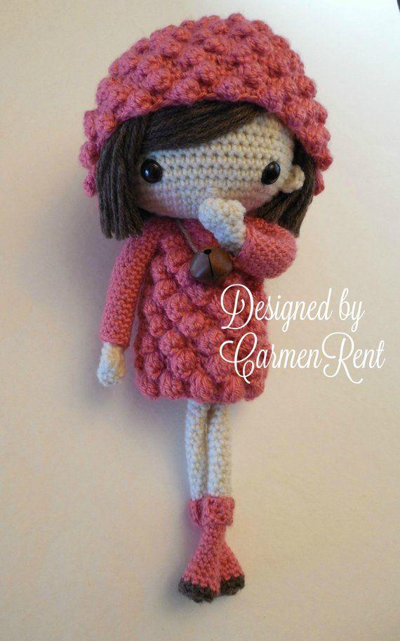 Mayte 17 Amigurumi Doll Crochet Pattern Pdf Crochet Crochet