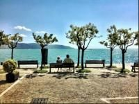 Charmantes Ferienhaus in Gargnano am Gardasee zu vermieten für 6 Personen:  5 bezaubernde Wohnetagen