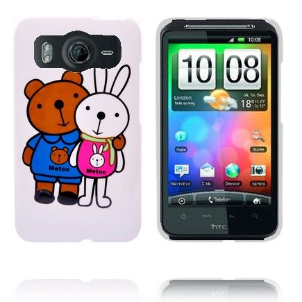 Glad Tegnefilm (Bunny og Bjørn) HTC Desire HD Cover