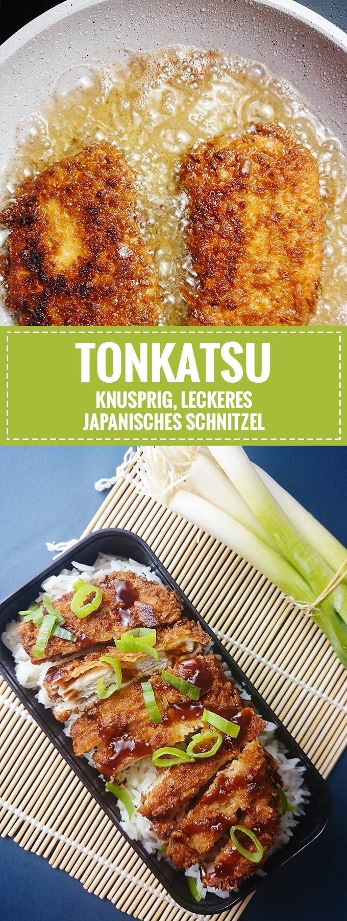 Tonkatsu – Knuspriges japanisches Schnitzel // Knabberkult.de – Knabberkult