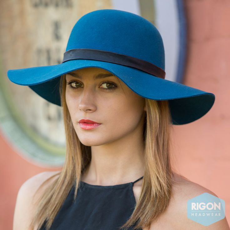 Stylish wide brim capeline ladies hat in top quality felt and black PV belt trim.  http://rigon-headwear.myshopify.com/collections/new-arrivals/products/new-elsbeth-felt-capeline-bd184-by-beforedark