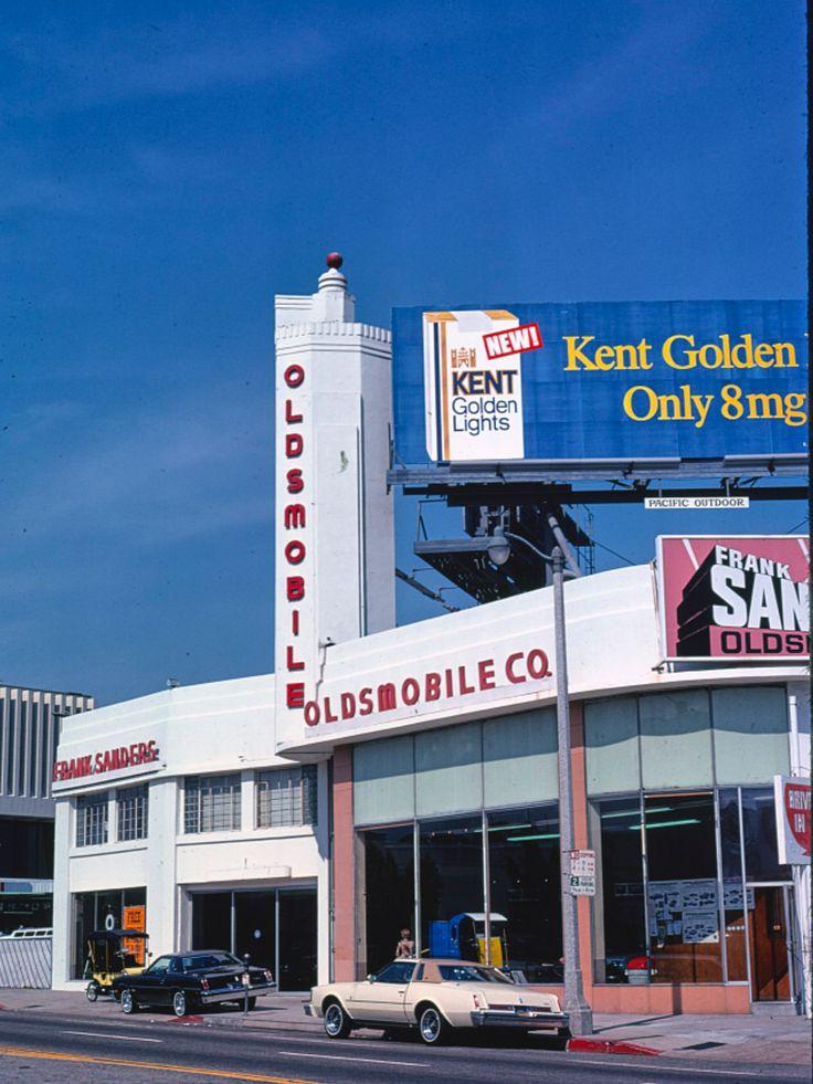 1976 Frank Sanders Oldsmobile Dealership, Los Angeles