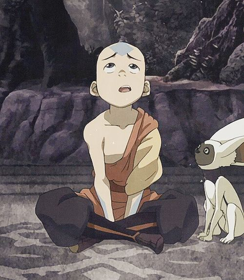 Pictures of Aang make me sad, I miss him so much <'3