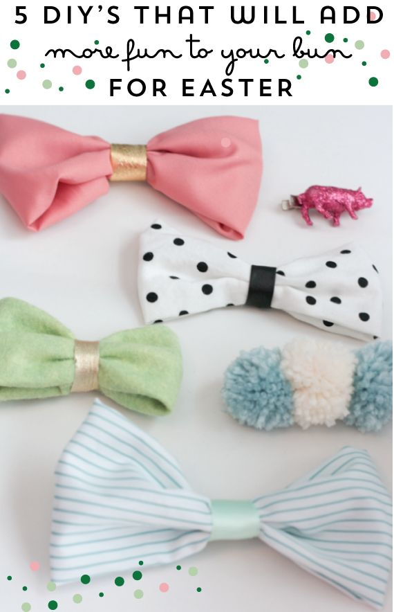 The Alison Show: 5 Easy DIY Easter Hair Accessories  For hair ideas, #hairstyles and advice visit   WWW.UKHAIRDRESSERS.COM