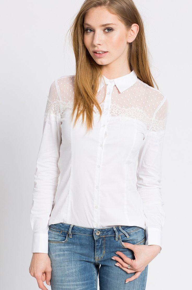 Bluzki i koszule Koszule z długim rękawem  - Guess Jeans - Koszula