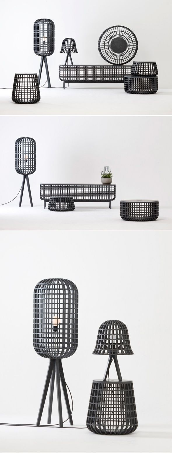 The Dami Series consists of basket forms available for various uses depending on form and size.