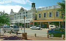 Grahamstown, South Africa- This is were I did my student teaching! It was a great place to live for a semester and a great place to visit!