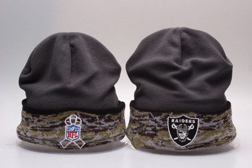 Oakland Raiders Winter Outdoor Sports Warm Knit Beanie Hat Pom Pom