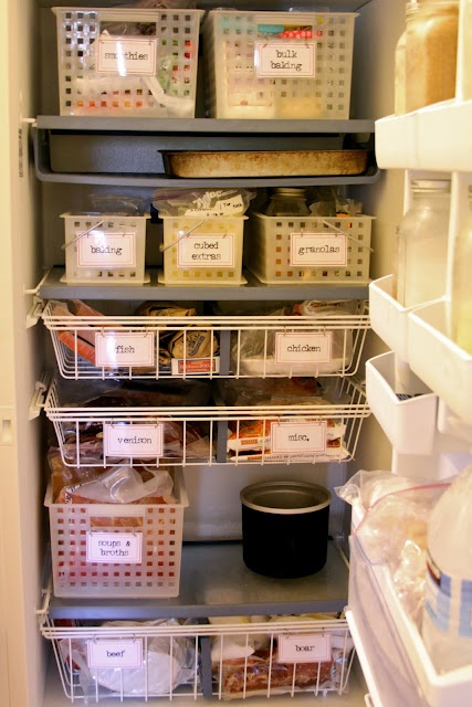 Freezer Organization I Wish I Could Make The Freezers