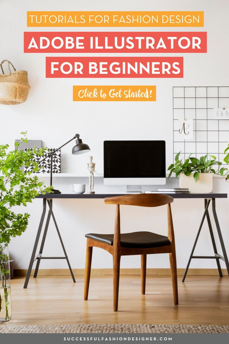 Adobe Illustrator For Beginners Getting Started Series Courses Free Tutorials On Adobe Illustrator Tech Packs Freelancing For Fashion Designers Fashion Design Adobe Illustrator Design Fashion Design