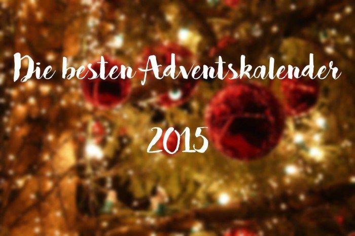 Die besten Adventskalender 2015