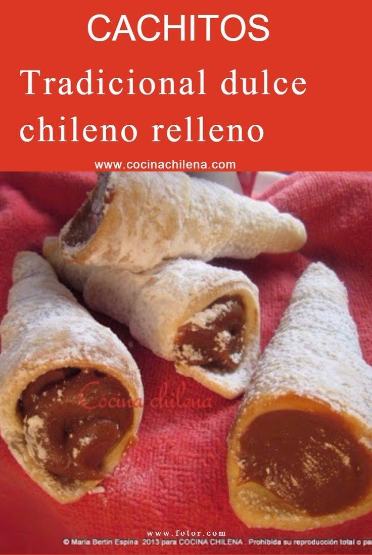 Tradicionales Cachitos Rellena con dulce de leche