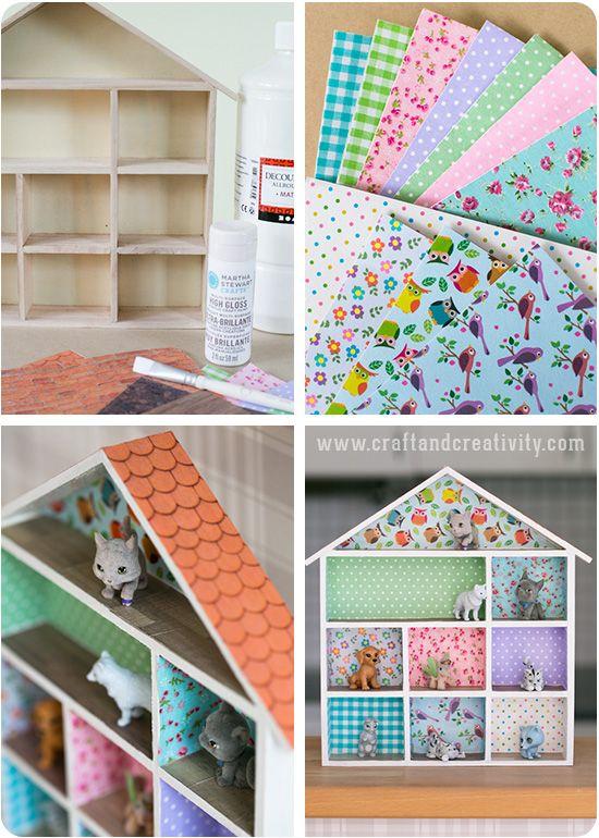 Miniature dollhouse - by Craft & Creativity (make for savannah)