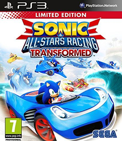Sonic & All Stars Racing Transformed: Limited Edition (PS3)
