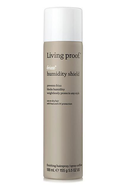 11 Products That'll Save Your Hair From Humidity Hell #refinery29  http://www.refinery29.com/humidity-hair-products#slide-3  — SPONSORED —Living Proof No Frizz Humidity ShieldA finishing spray coupled with an anti-frizz product will really let summer know who's boss. This one in particular is packed with weightless frizz-fighting molecules, so you can seal in your look without feeling like you've shellacked your hair into a helmet.