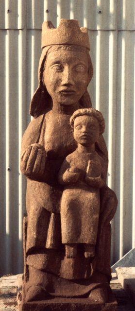 escultura romanica virgen - Buscar con Google