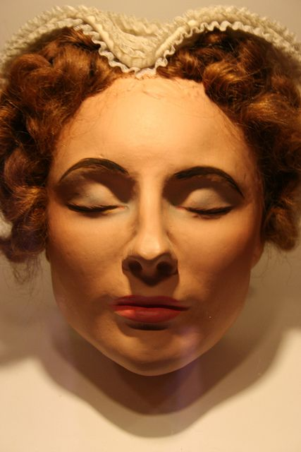 Facial reconstruction of Mary Queen of Scots from her death mask, 1587.
