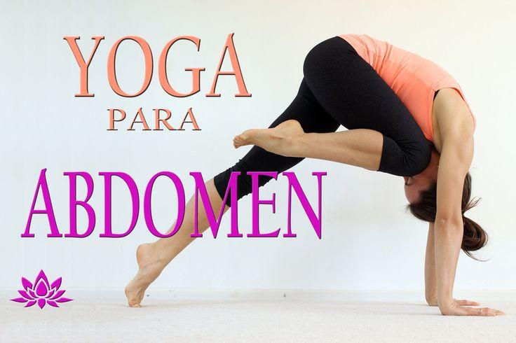 Yoga para ABDOMEN PLANO 30 min | Clase 3 - YouTube