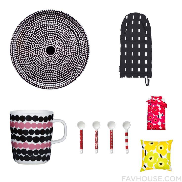 Interior Design Things With Marimekko Serveware Marimekko Marimekko Drinkware And Marimekko From February 2016 #home #decor