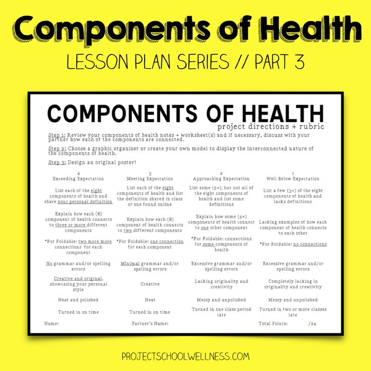 Health Lesson Plan Health And Safety Lesson Plan Example Sample