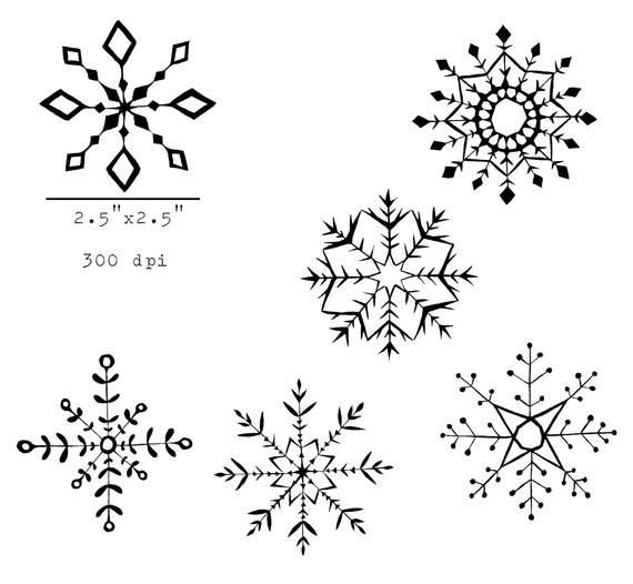 37++ Snowflake clipart black and white transparent background ideas