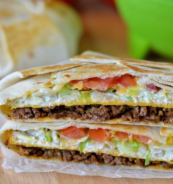 Ingredients: 1 Lb Ground Beef 1 Packet Taco Seasoning Mix