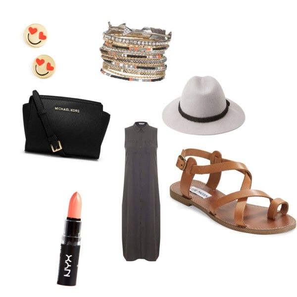 nice and simple by carlifornia101 on Polyvore featuring polyvore fashion style Miss Selfridge Steve Madden MICHAEL Michael Kors Kate Spade maurices Forever 21