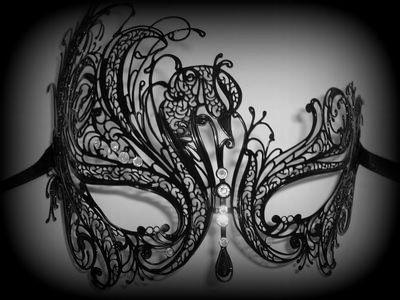 Mireille Venetian Masquerade Mask