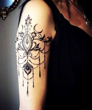 Image result for lace tattoo