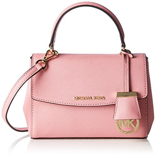 Michael Kors Ava Extra Small Saffiano Leather Crossbody - Misty Rose ** More info could