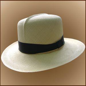 Colonial Panama Hat for Men (Grade 3-4) - Natural