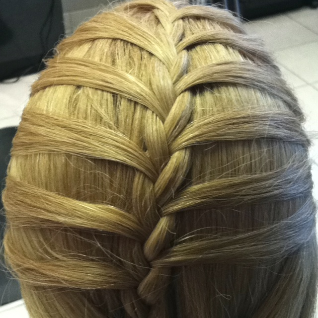 Outside French braid | Hair & Beauty | Pinterest | French ...