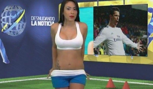 Snaky Snaky: Coppa America: il Venezuela vince e lei si spoglia...