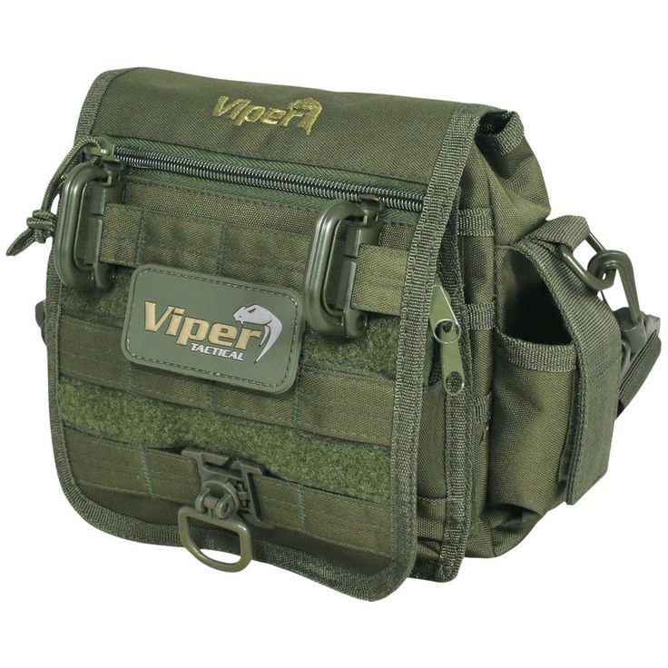 VIPER SPECIAL OPS MOLLE POUCH MILITARY SHOULDER BAG CADET CARRY PACK OLIVE GREEN in Clothes, Shoes & Accessories, Men's Accessories, Bags | eBay