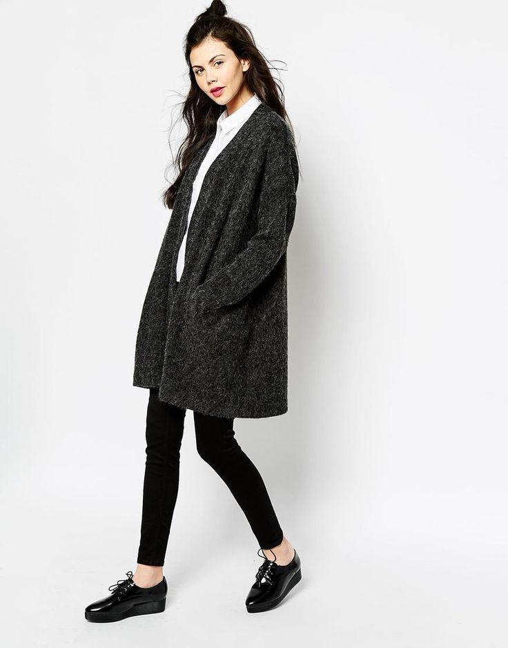 Monki Oversized Cardigan