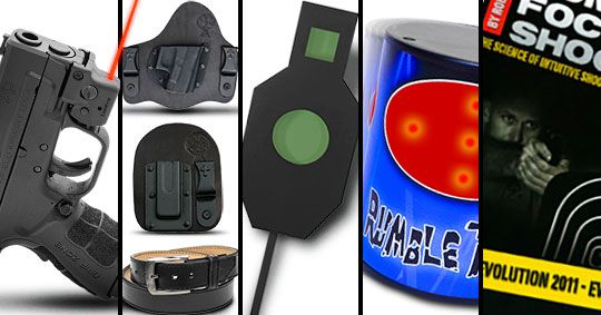 New Year, New Gear Giveaway @LaserLyte @CBHolsters @Springfield_Inc @ActionTargetInc @pincus_rob