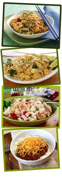 Here are some wonderful recipes for the Shirataki Tofu Noodles. YUM!