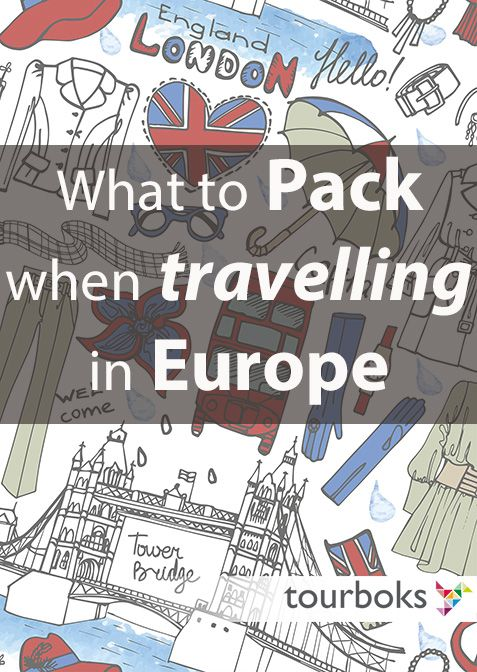 Travelling lightweight is always easier because it gives you more freedom to move around. But the changes in weather in the European countries can make it difficult to pack and stay comfortable. So, here are our suggestions for the best things to pack from Tourboks!