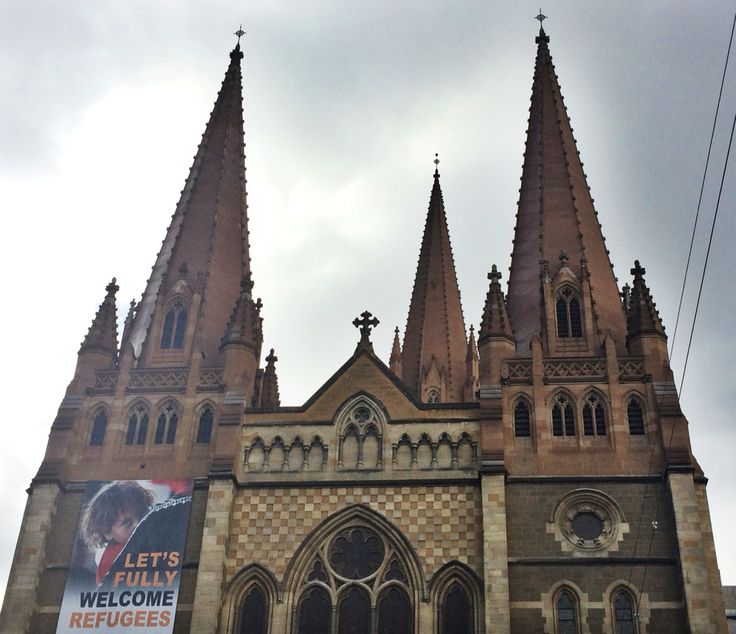 St. Paul's Cathedral, Melbourne (1880 - 2009) Designed by William Butterfield and John Barr.