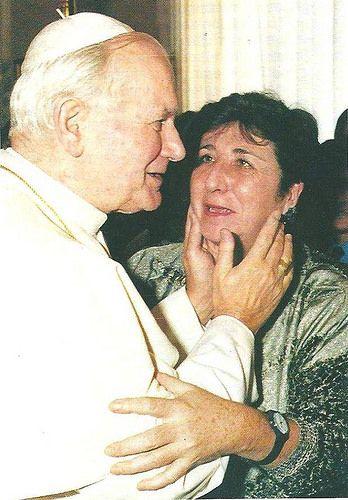 Juan Pablo II y Carmen Hernández (Camino Neocatecumenal años 70) - H. Guerrero