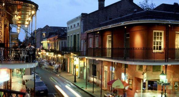 New Orleans LA French Quarter