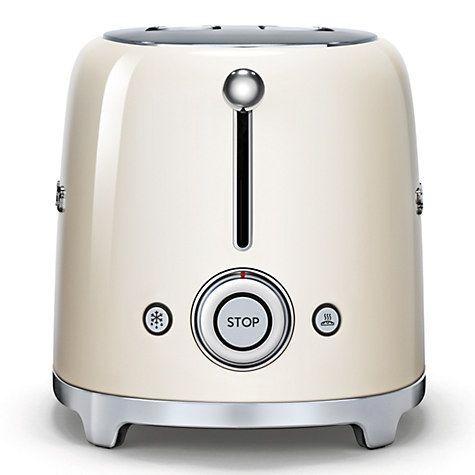 Buy Smeg TSF01 2-Slice Toaster Online at johnlewis.com