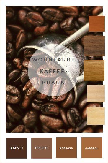 Kaffeebohnen duften einfach hervorragend. Und sie sehen, was die Farbgebung betrifft, auch gut aus. Von kaffeebraun gestrichenen Wänden kannst du dich so richtig schön wohlig-warm und geborgen umhü...