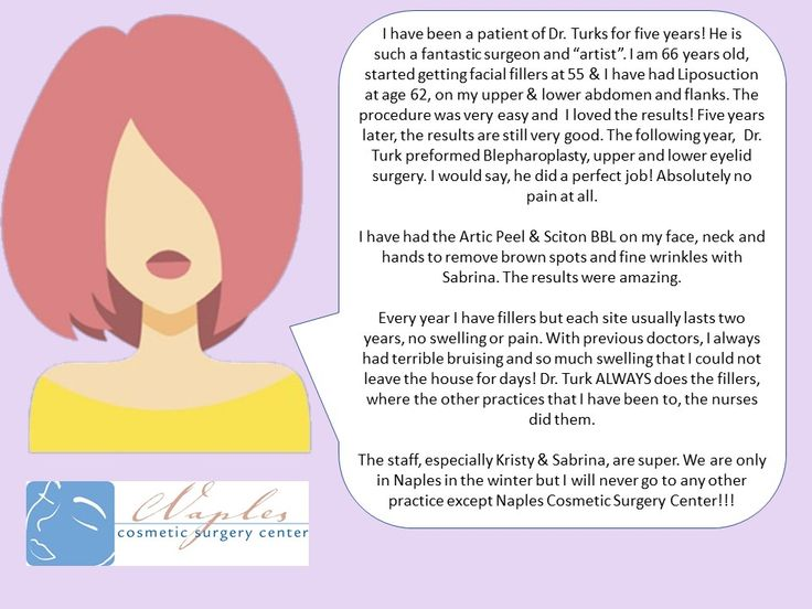 Idea by naples cosmetic surgery center on patient reviews