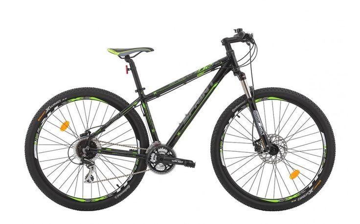 Bicicleta MTB HT Sprint Apolon MDB  Aluminiu 6061 Negru - Verde 29 Inch