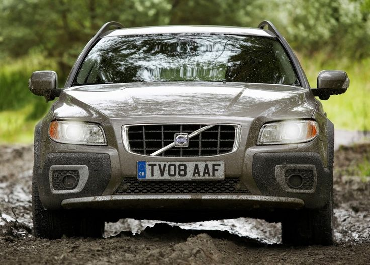 XC70 in the mud.