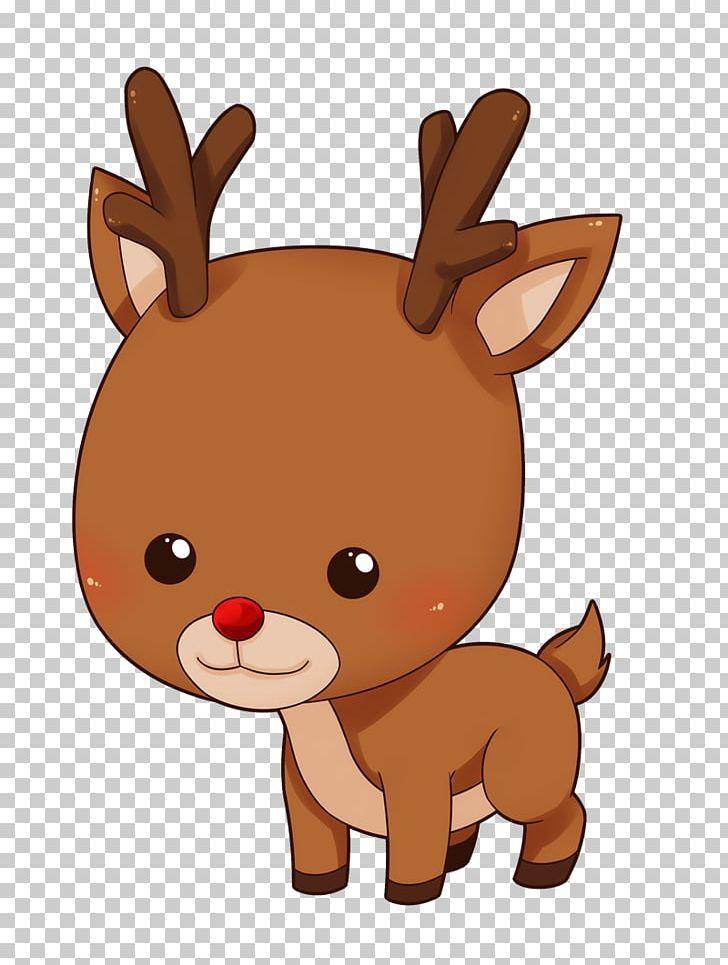 Rudolph Reindeer Santa Claus Cuteness Png Antler Baby Baby Deer Cliparts Blog Carnivoran Reindeer Drawing Deer Cartoon Kawaii Christmas