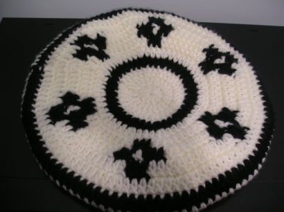 a94e83fd21781 Boina de gaucho al crochet - Imagui