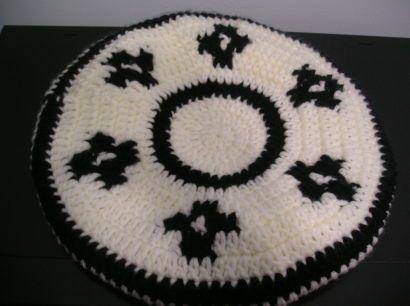 Boina de gaucho al crochet - Imagui